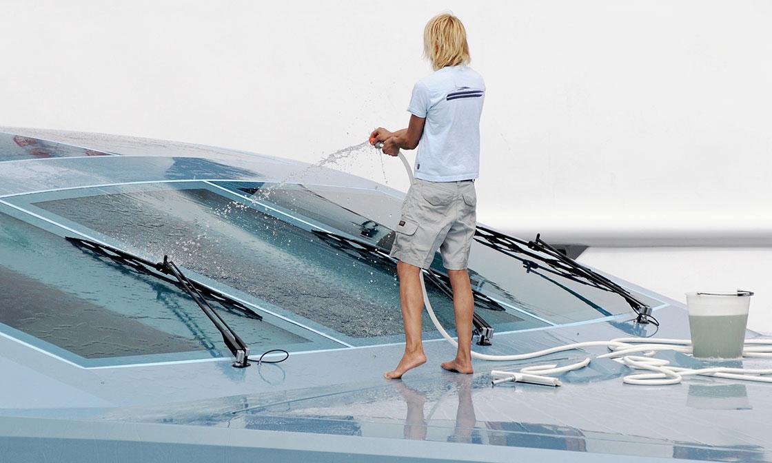 yachtreinigung